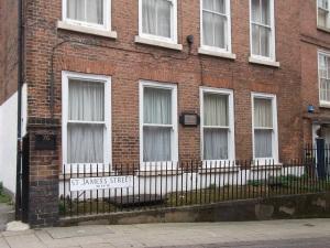 Byron's House on St James Street Nottingham
