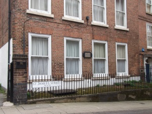 Byron's House on St James Street Nottingham
