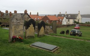 Anne Brontë's grave can be found in the clifftop churchyard of St Mary's.