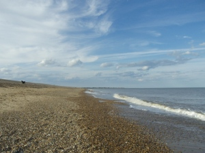 Beach at Dunwich